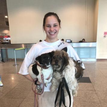 Мама с дочкой - Собаки в добрые руки